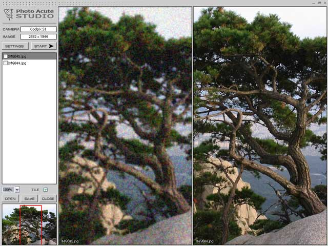 PhotoAcute improves quality of digital photos